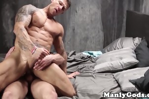 Balls Deep Ass Fucking With Some Muscle Bound Hunks