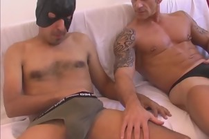 Hung Latino Blowjob