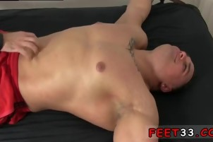 Mens exciting socked feet and tgp gay feet Tough Wrestler