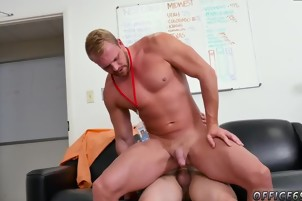 Straight gay man penis ooze First day at work